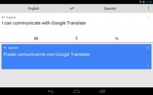 application voyage google traduction
